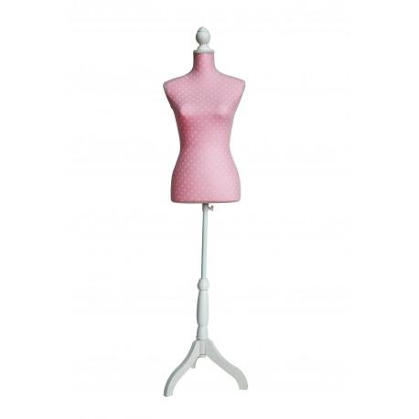 Deko-Schneiderbüste Ballerina Pink