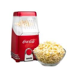 Salco Coca-Cola Popcornmaschine Heißluft
