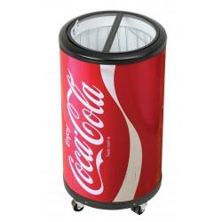 Salco COCA-COLA Party-Cooler ist ein Kühlschrank mit 50l Fassungsvermögen